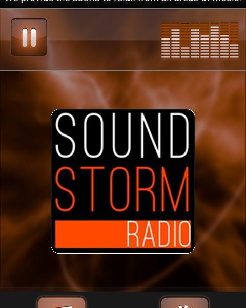 soundstorm radio app
